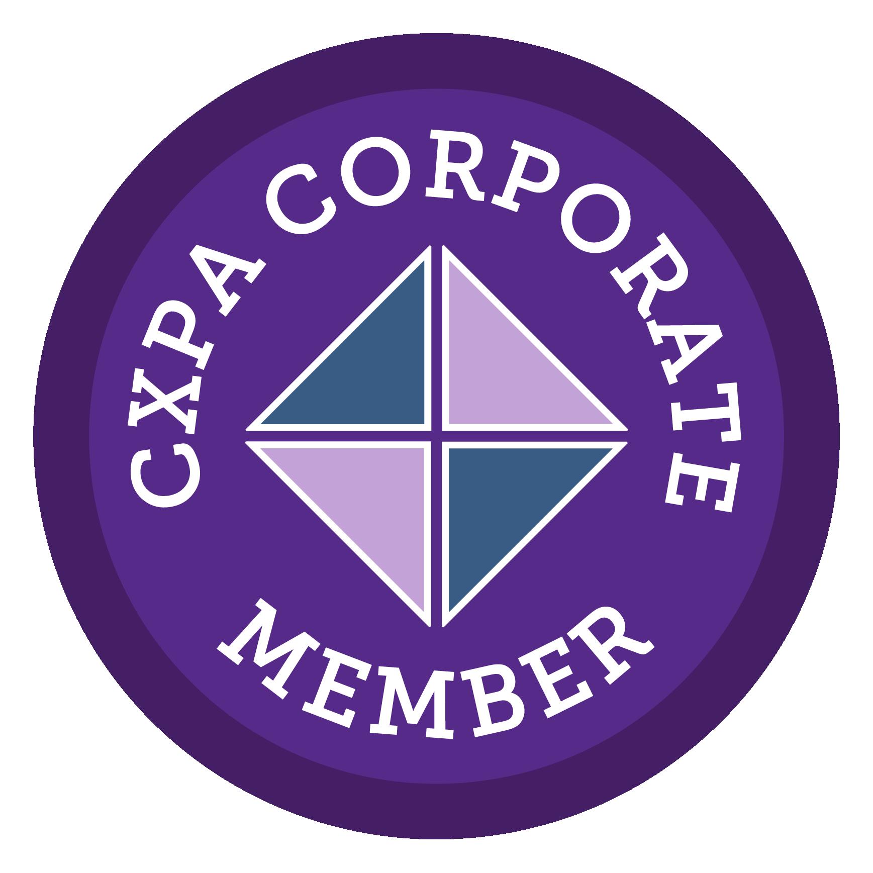 CXPA Corporate Member - Sapphire Logo